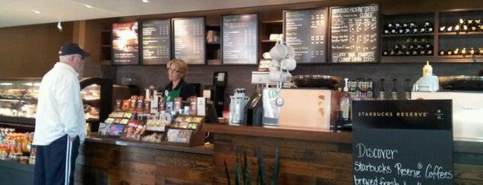 Starbucks is one of Megan : понравившиеся места.
