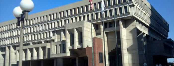 Boston City Hall is one of Boston.