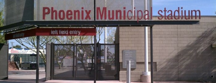 Phoenix Municipal Stadium is one of PHX.