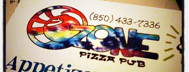 OZONE Pizza Pub is one of Pensacola/Florida.