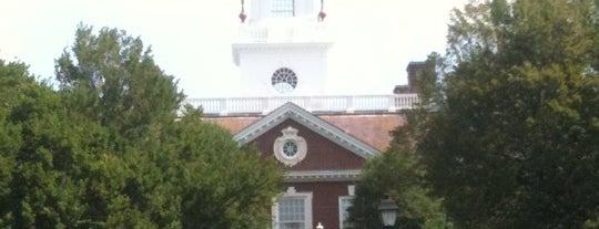 Delaware Legislative Hall is one of The Crowe Footsteps.