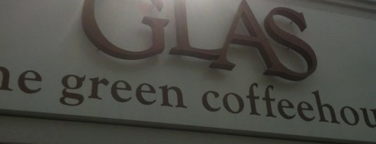 Glas: The Green Coffee House is one of Door County.