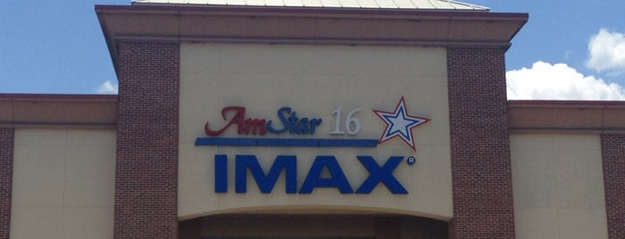 """Amstar Cinema 16 is one of Places That Scream, """"Macon""""."""