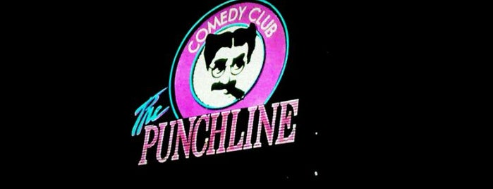 The Punchline Comedy Club is one of Georgia Pt. 2.