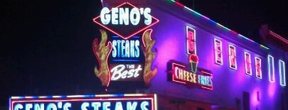 Geno's Steaks is one of Let's get lose.