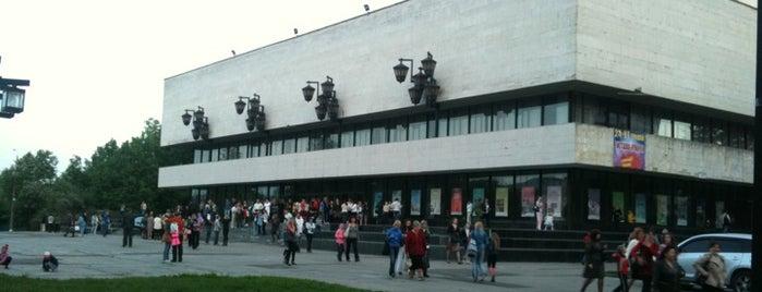 Театр ім. М.С. Щепкіна is one of สถานที่ที่บันทึกไว้ของ Дарья.