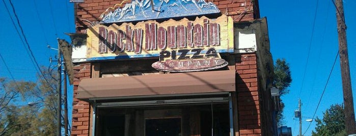 Rocky Mountain Pizza is one of Recommendations in Atlanta.