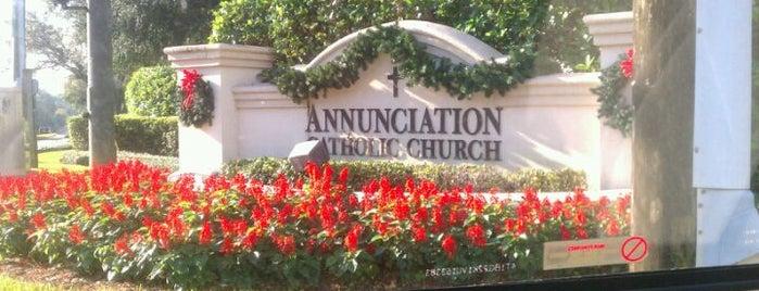 Annunciation Catholic Church is one of Locais curtidos por Marty.