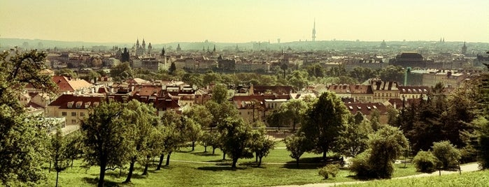 Petřínské sady | Petřín Gardens is one of Prague.
