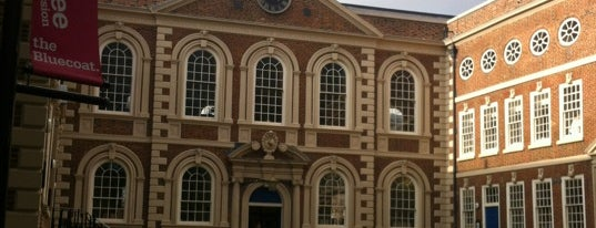 the Bluecoat is one of Liverpool.