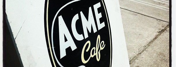 Acme Cafe is one of Vancouver.