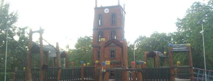 Dětské hřiště u Vinohradské vodárny is one of PRAGUE - outings.