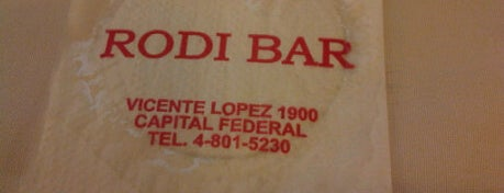 Rodi Bar is one of Buenos Aires.
