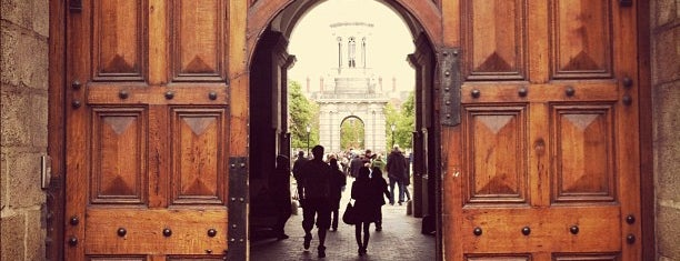 Trinity College Front Gates is one of United Kingdom, UK.