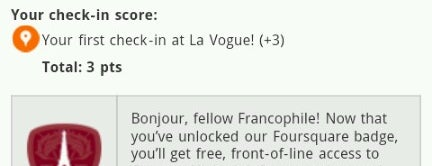 La Vogue is one of Vegas Vacation.