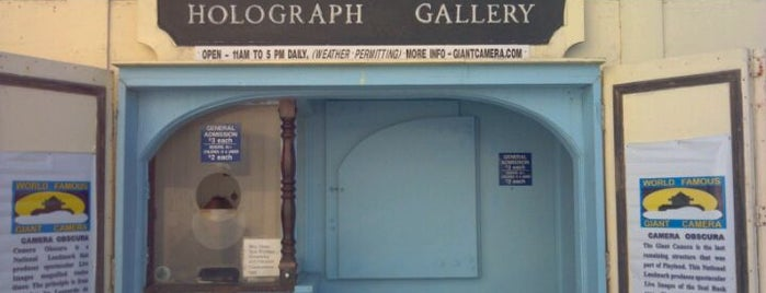Camera Obscura & Holograph Gallery is one of Atlas Obscura SF Exploration Spots, OD 2012.