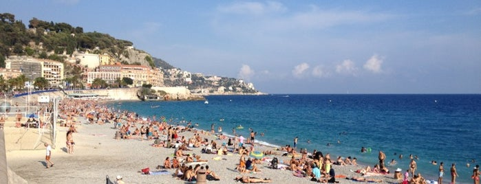 Plage de Nice is one of Nizza.