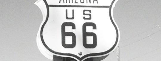 Historical Route 66 is one of USA Trip 2013.