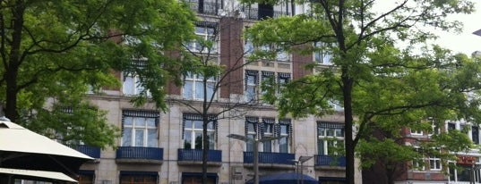 Hotel NH Collection Amsterdam Grand Hotel Krasnapolsky is one of Monuments ❌❌❌.