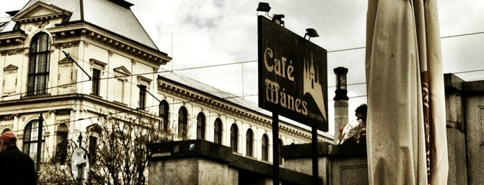 Café Mánes is one of Prague.