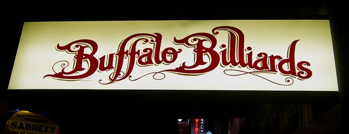 Buffalo Billiards is one of Austin Pubs & Bars.