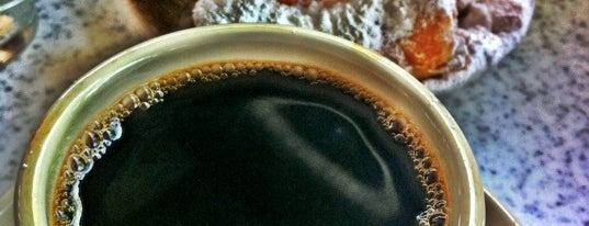Café du Monde is one of New Orleans!.