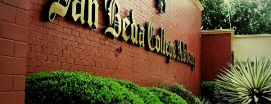 San Beda College Alabang is one of Chanine Mae'nin Beğendiği Mekanlar.