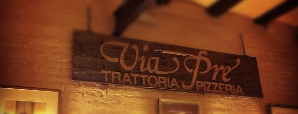 Pizzeria Via Pre is one of Jose Antonio : понравившиеся места.