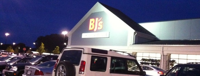 BJ's Wholesale Club is one of Best Of Waltham.