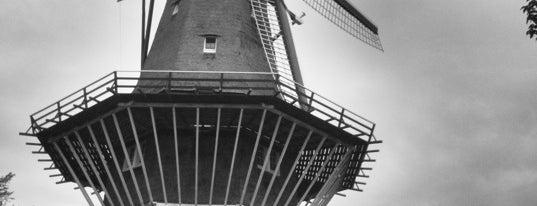 Molen De Gooyer is one of Monuments ❌❌❌.