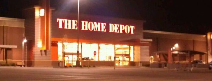 The Home Depot is one of All The Places I Can Think of That I've been.