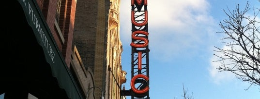 Music Box Theatre is one of Spring Break 2013.