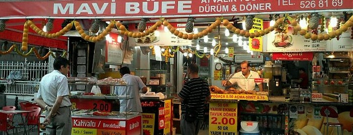 Mavi Büfe is one of Guide to Istanbul's best spots.