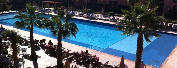 Les Jardins de l'Agdal Hotel & Spa is one of Morocco.