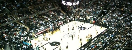 AT&T Center is one of NBA Arena Guide.