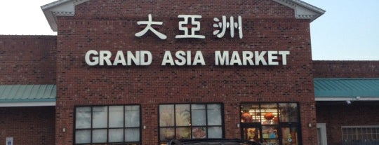 Grand Asia Market is one of Cash Only.