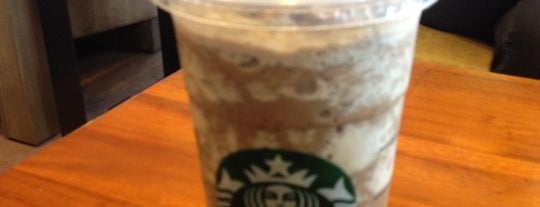 Starbucks is one of Frequent visit.