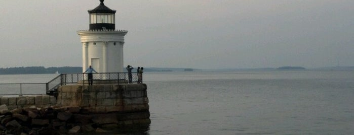Bug Light (Portland Breakwater Lighthouse) is one of March Portland.