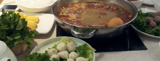 Happy Lamb Hot Pot, Flushing is one of Locais salvos de Beril.