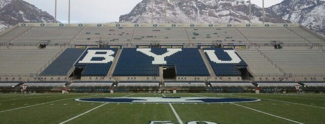 LaVell Edwards Stadium is one of Great Sport Locations Across United States.