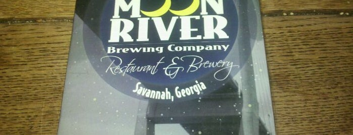 Moon River Brewing Company is one of Georgia Brew Pubs.