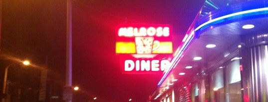 Melrose Diner is one of 4sq Cities! (USA).