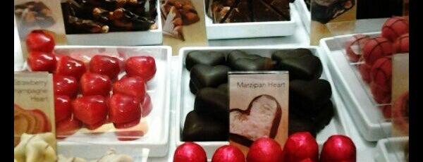 Godiva Chocolatier is one of C1.