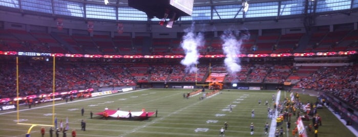 BC Place is one of Come Back Later.
