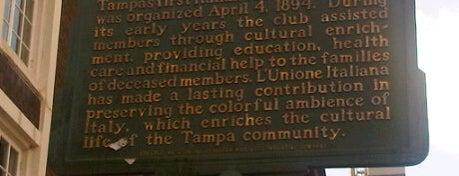 Italian Club is one of Tampa Cigar Landmarks.
