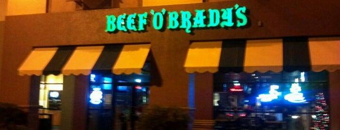 Beef 'O' Brady's is one of Lizzie'nin Kaydettiği Mekanlar.