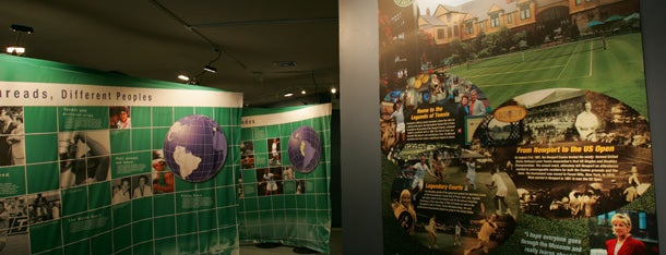 International Tennis Hall of Fame & Museum Gallery at the US Open is one of US Open Grounds.
