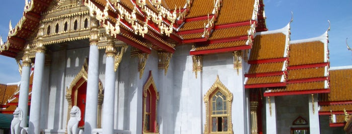 The Marble Temple is one of Rob & Bec Visit Bangkok.
