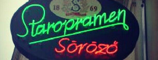 Staropramen Söröző is one of Andras : понравившиеся места.