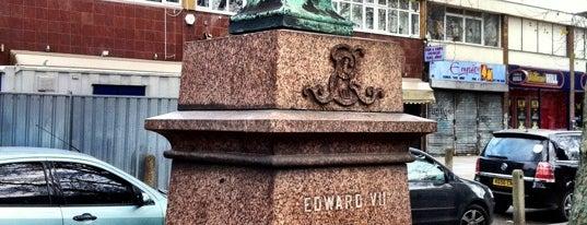 Edward VII Statue is one of Lugares guardados de Emir.